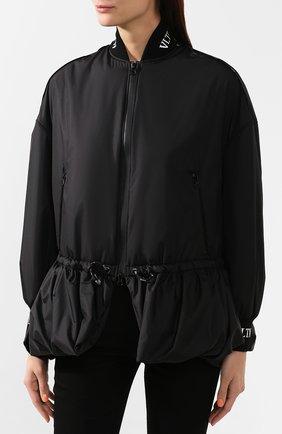 Женская куртка VALENTINO черного цвета, арт. SB3CJ01D3WE | Фото 3