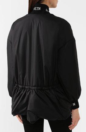 Женская куртка VALENTINO черного цвета, арт. SB3CJ01D3WE | Фото 4