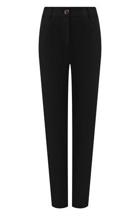 Женские шерстяные брюки DOLCE & GABBANA черного цвета, арт. FTBMJT/FUCCS | Фото 1