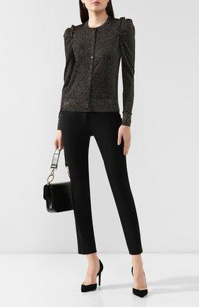 Женские шерстяные брюки DOLCE & GABBANA черного цвета, арт. FTBMJT/FUCCS | Фото 2