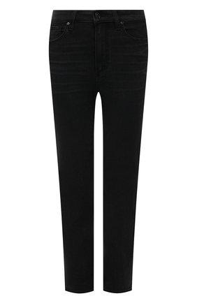Женские джинсы PAIGE черного цвета, арт. 5673F60-6497 | Фото 1