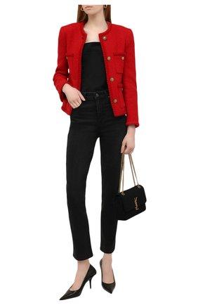 Женские джинсы PAIGE черного цвета, арт. 5673F60-6497 | Фото 2