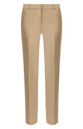 Женские шерстяные брюки THEORY бежевого цвета, арт. J0801203 | Фото 1