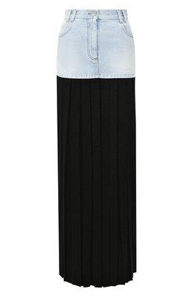 Женская юбка-макси BALMAIN разноцветного цвета, арт. SF04924/D106 | Фото 1