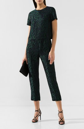 Женские брюки TARA JARMON темно-синего цвета, арт. 13372-P1138 | Фото 2
