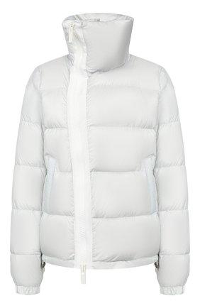 Женский пуховая куртка SACAI светло-серого цвета, арт. SCW-037 | Фото 1