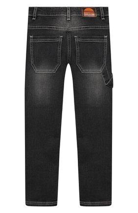 Детские джинсы MARC JACOBS (THE) серого цвета, арт. W24201   Фото 2