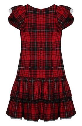 Детское платье MONNALISA разноцветного цвета, арт. 114920 | Фото 2