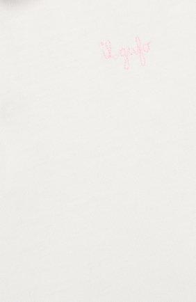 Хлопковый лонгслив | Фото №3