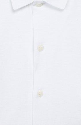 Детское хлопковое боди IL GUFO белого цвета, арт. A19MB051M0094/3M-9M | Фото 3