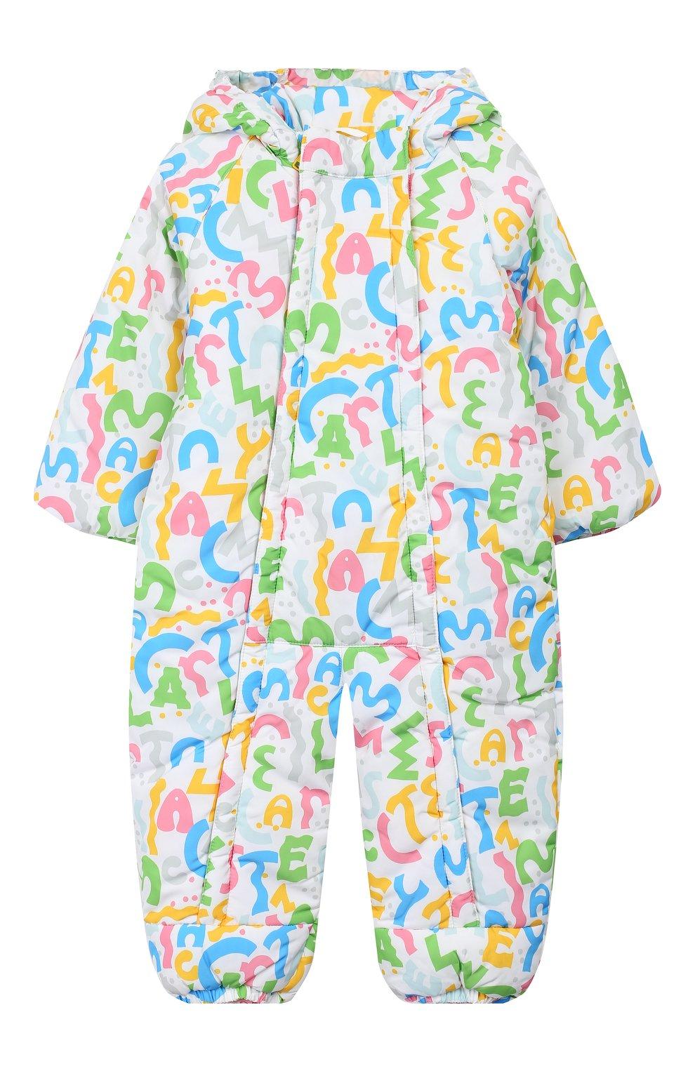 Детский комбинезон STELLA MCCARTNEY разноцветного цвета, арт. 566296/SNK31   Фото 1