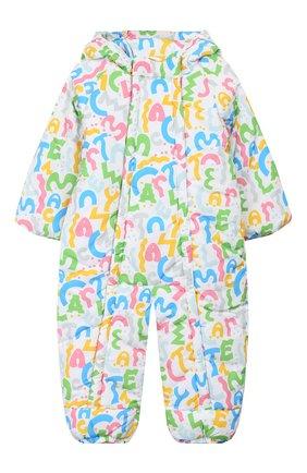 Детский комбинезон STELLA MCCARTNEY разноцветного цвета, арт. 566296/SNK31 | Фото 1