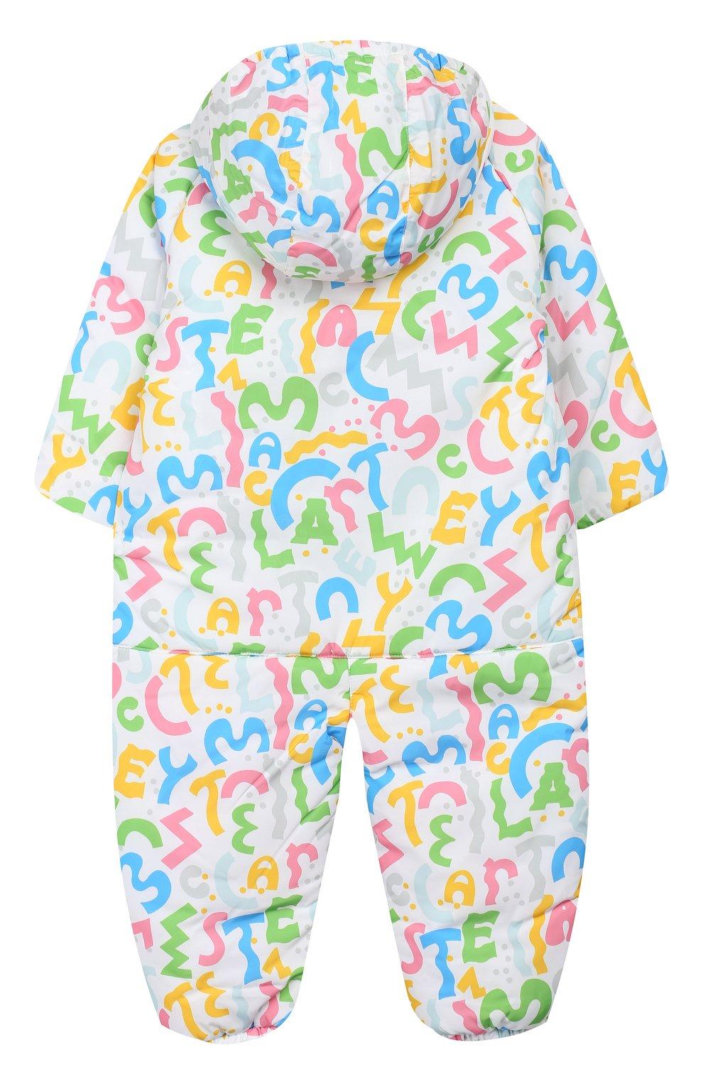 Детский комбинезон STELLA MCCARTNEY разноцветного цвета, арт. 566296/SNK31   Фото 2