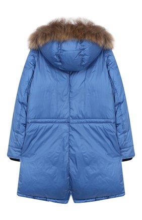 Пальто с меховой отделкой | Фото №2