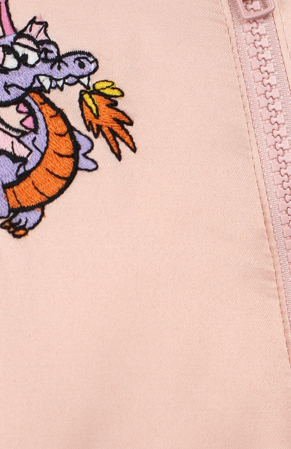 Детского комбинезон STELLA MCCARTNEY розового цвета, арт. 566406/SNK46 | Фото 3