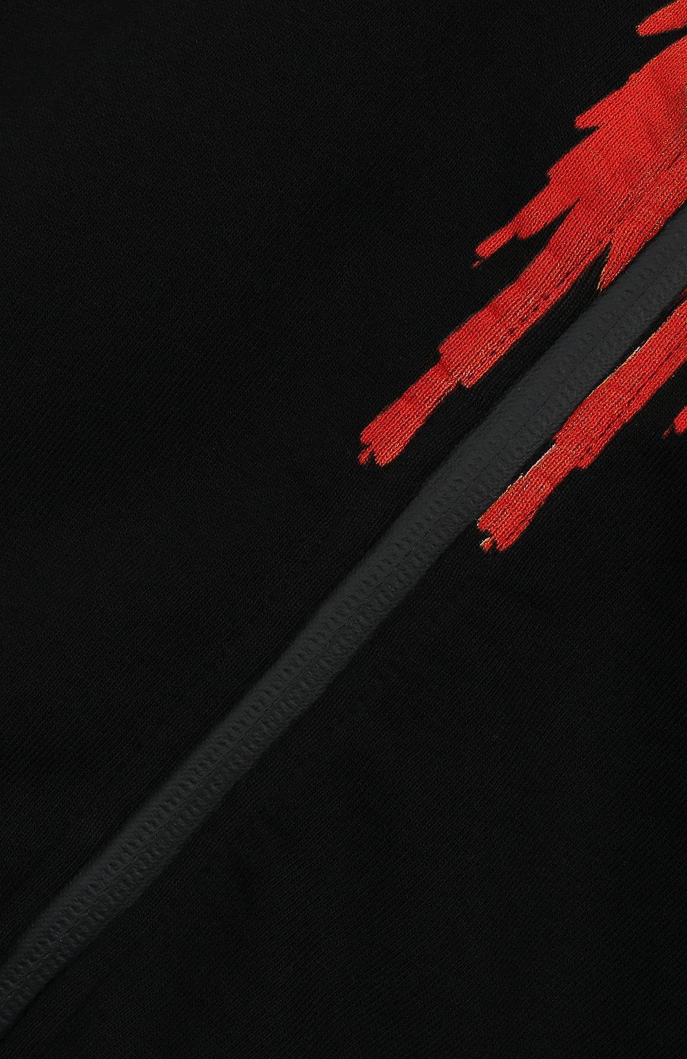 Детский хлопковая толстовка MARCELO BURLON KIDS OF MILAN черного цвета, арт. B/MB/2202/0020/8-14Y | Фото 3 (Рукава: Длинные; Мальчики Кросс-КТ: Толстовка-спорт; Материал внешний: Хлопок; Статус проверки: Проверено; Ростовка одежда: 10 - 11 лет | 140 - 146см, 12 лет | 152 см, 13 - 15 лет | 158 см)