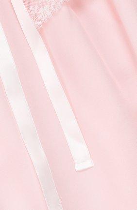 Сорочка из хлопка и шелка | Фото №3