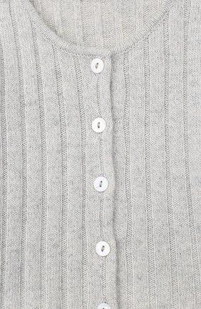 Детский кардиган ALETTA серого цвета, арт. MRB999952/1M-2A   Фото 3