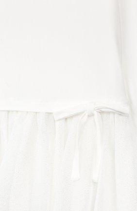 Женский платье ALETTA белого цвета, арт. RS999264/12M-2A | Фото 3