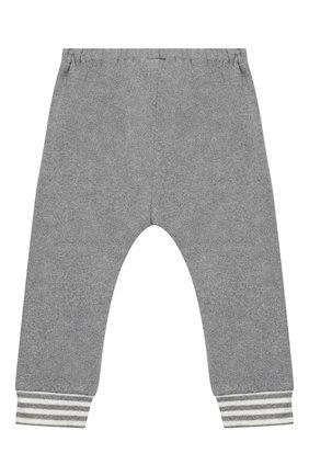 Детские хлопковые джоггеры ALETTA серого цвета, арт. RW999231/1M-2A | Фото 2