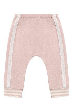 Детские хлопковые джоггеры ALETTA розового цвета, арт. RW999231/1M-2A | Фото 1