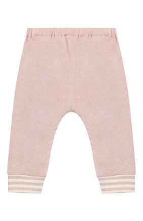 Детские хлопковые джоггеры ALETTA розового цвета, арт. RW999231/1M-2A | Фото 2