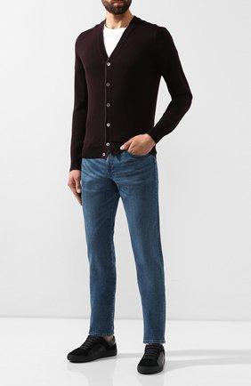 Мужские джинсы BOSS синего цвета, арт. 50416364 | Фото 2