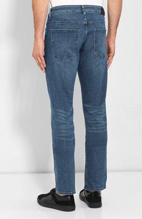 Мужские джинсы BOSS синего цвета, арт. 50416364 | Фото 4