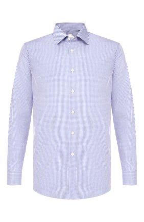 Мужская хлопковая сорочка PAL ZILERI синего цвета, арт. P370G45----B0272 | Фото 1