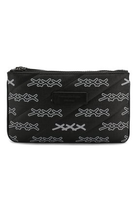 Мужская поясная сумка ZEGNA COUTURE темно-серого цвета, арт. C1383X-LHREG | Фото 1