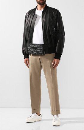 Мужская поясная сумка ZEGNA COUTURE темно-серого цвета, арт. C1383X-LHREG | Фото 2