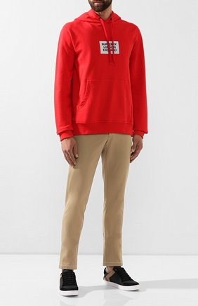 Мужской хлопковые брюки BURBERRY бежевого цвета, арт. 8012432 | Фото 2