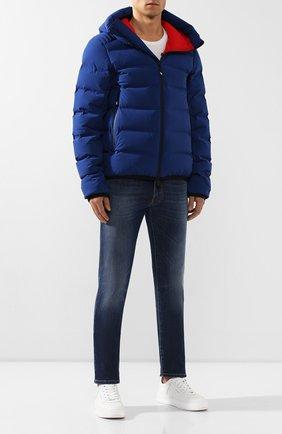 Мужские джинсы C.P. COMPANY синего цвета, арт. 07CMPA183A-005408X | Фото 2