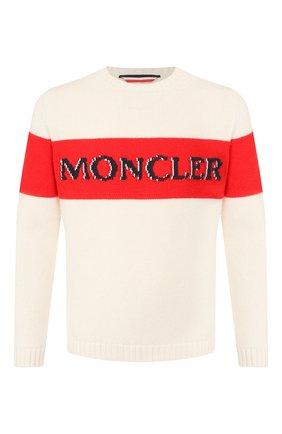Шерстяной свитер 2 Moncler 1952 x Valextra | Фото №1
