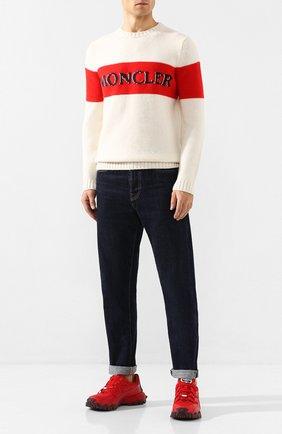 Шерстяной свитер 2 Moncler 1952 x Valextra | Фото №2