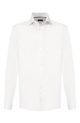 Мужская хлопковая сорочка VAN LAACK белого цвета, арт. TIVARA2-PTF/150182 | Фото 1
