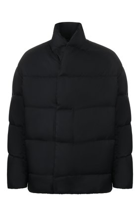 Мужская пуховая куртка KAZUYUKI KUMAGAI черного цвета, арт. KB93-033 | Фото 1