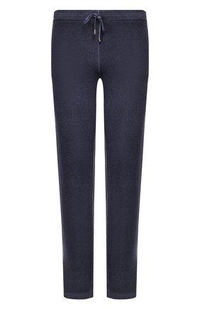 Мужской брюки из смеси шерсти и кашемира CRUCIANI синего цвета, арт. CU20.054 | Фото 1