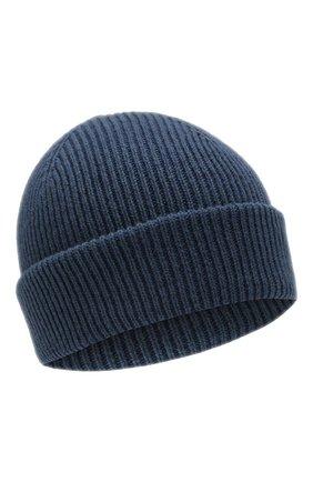 Мужская кашемировая шапка INVERNI синего цвета, арт. 4553CM | Фото 1