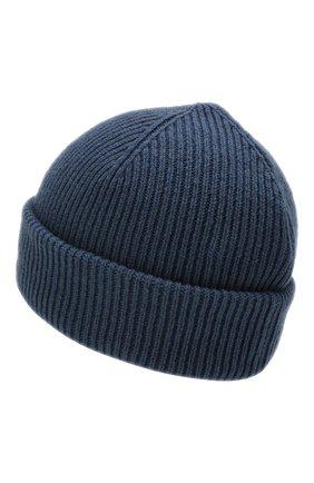 Мужская кашемировая шапка INVERNI синего цвета, арт. 4553CM | Фото 2