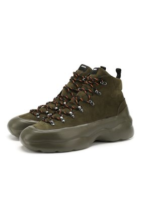 Мужские замшевые ботинки RBRSL хаки цвета, арт. 7V2156U.V70CWKBB74   Фото 1