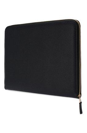 Мужская кожаный футляр для документов SMYTHSON темно-синего цвета, арт. 1024816 | Фото 2