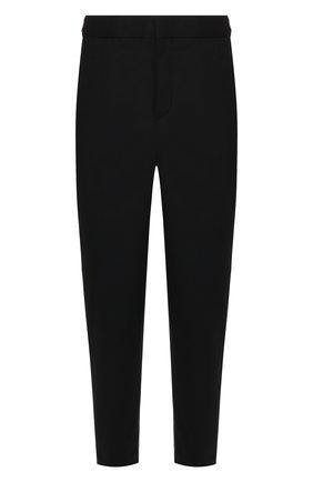 Мужской укороченные брюки NEIL BARRETT черного цвета, арт. BPA703/M050 | Фото 1