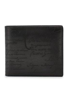 Мужской кожаное портмоне BERLUTI черного цвета, арт. N118709 | Фото 1