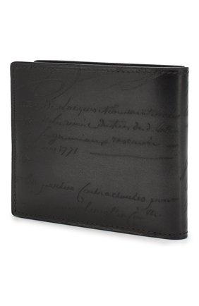 Мужской кожаное портмоне BERLUTI черного цвета, арт. N118709 | Фото 2