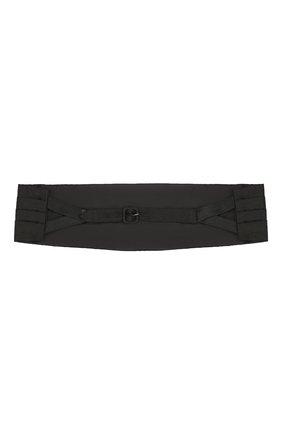 Мужской шелковый камербанд BERLUTI черного цвета, арт. T16CU02-002 | Фото 2