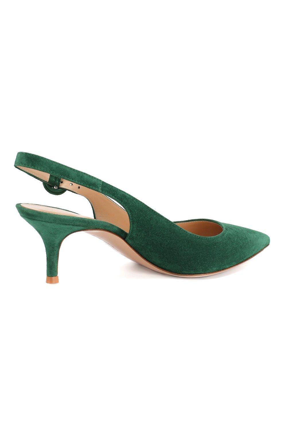 Замшевые туфли Anna 55 | Фото №4