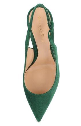 Замшевые туфли Anna 55 | Фото №5
