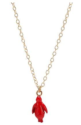 Женская кулон на цепочке MARNI красного цвета, арт. C0MV0122A0/M2000 | Фото 2