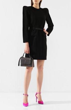 Женская сумка eden mini GIVENCHY серого цвета, арт. BBU005B0LK | Фото 2
